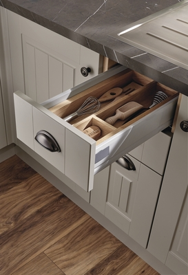 laminate kitchen flooring remodel on a budget burford tongue & groove cashmere range | howdens ...