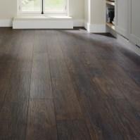 Professional V Groove Dark Oak Laminate Flooring   Howdens ...