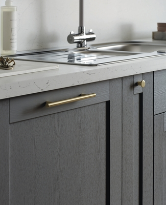 grey kitchen island lowes pantry allendale slate   shaker kitchens howdens ...