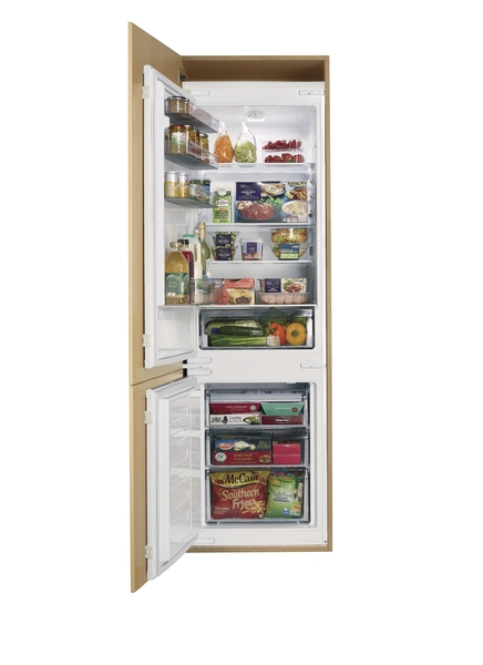 ikea kitchen cabinet handles napkins lamona integrated fridge freezer 70/30 | howdens joinery