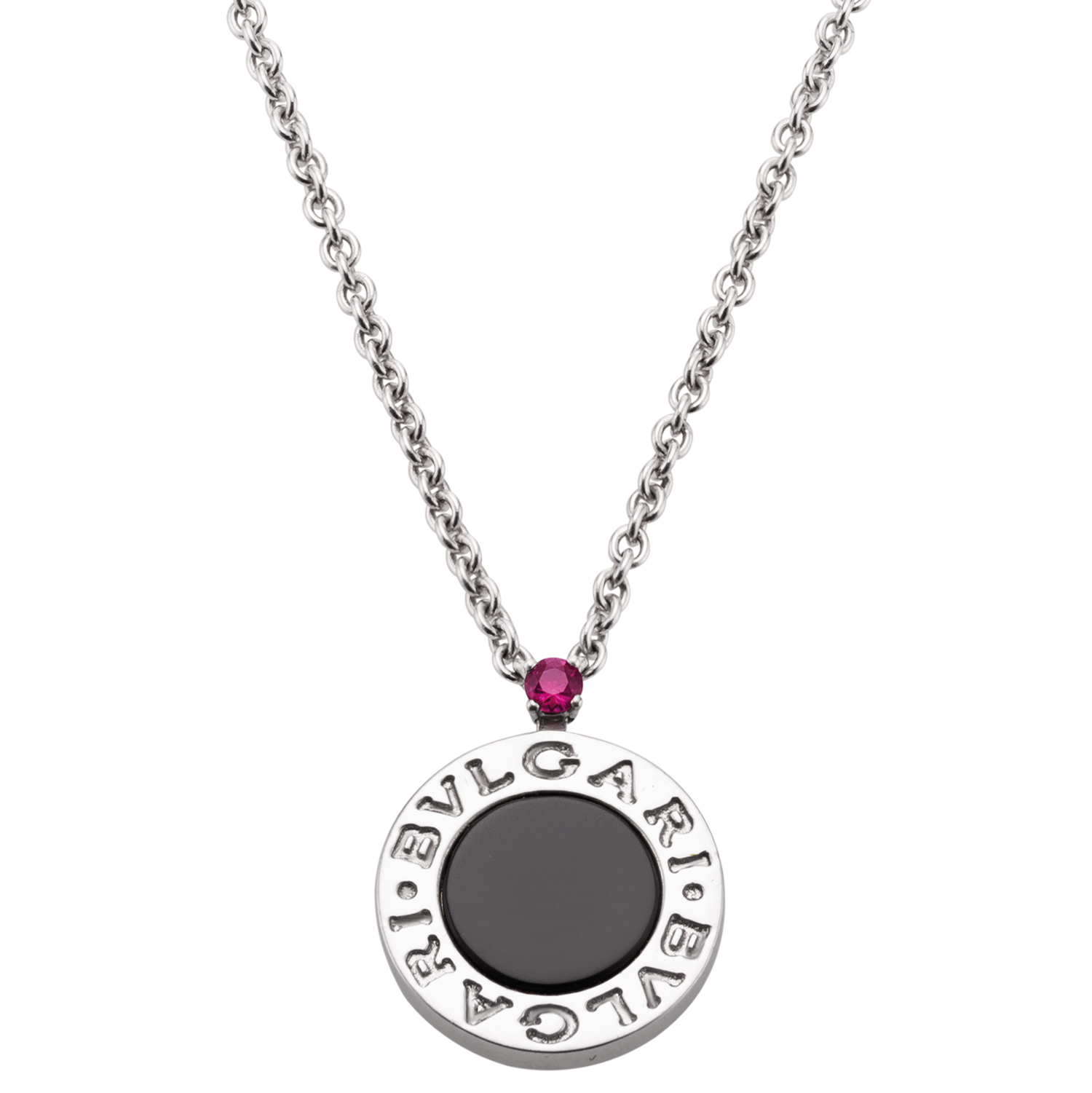 A new Bulgari silver and ruby necklace benefits Save the