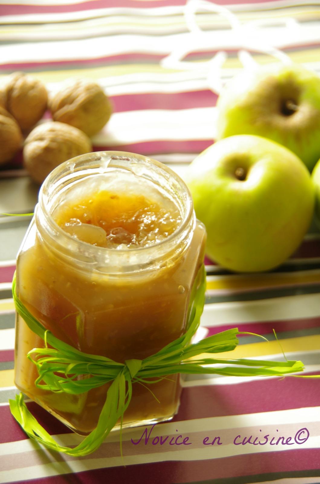 Recette Confiture De Pommes Originale : recette, confiture, pommes, originale, Confiture, Pommes, Recette, Novice, Cuisine