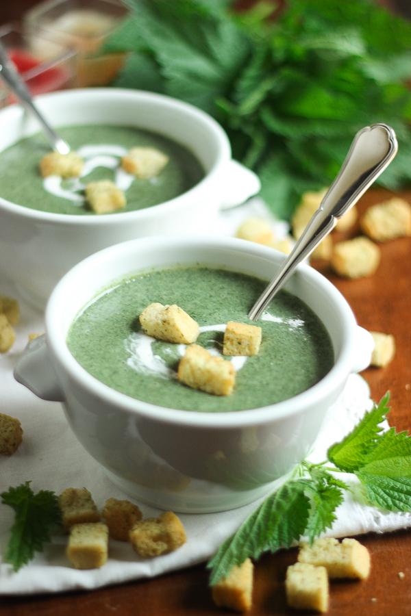 Soupe D Orties Grand Chef : soupe, orties, grand, Soupe, D'orties, Crémeuse, Réconfortante, Recette, Mijote, Quelque, Chose