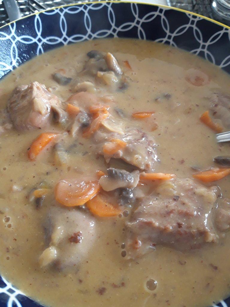 Recette Sot L'y Laisse De Dinde Curry Coco : recette, laisse, dinde, curry, Sot-l'y-laisse, Dinde, Façon, Blanquette, Recette, Malle, Recettes
