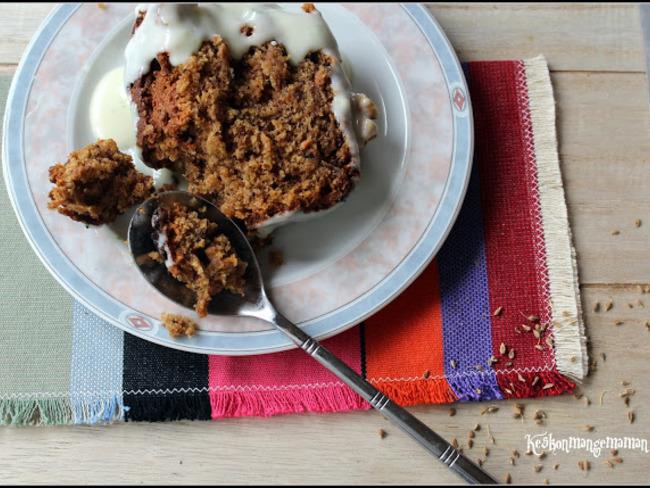 Carrot Cake De Jamie Oliver Aux Graines Danis Et Noix Recette Par