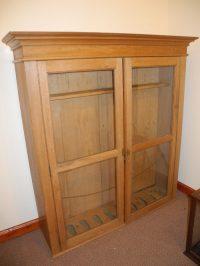 Large Pine Gun Cabinet - Antiques Atlas