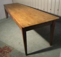 A Large French Pine Farmhouse Kitchen Table - Antiques Atlas