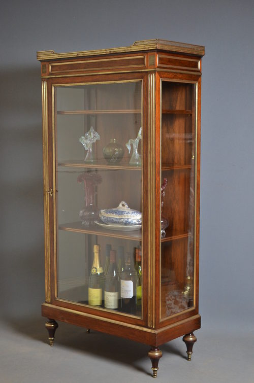 Continental Vitrine  Display Cabinet  Antiques Atlas