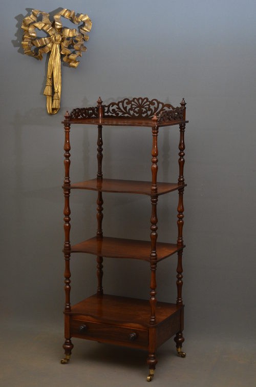 Victorian Etagere In Rosewood  Antiques Atlas