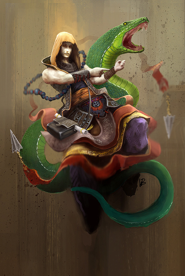 Wallpaper Geek Girl 5 Fantasy Snakes For 2013 The Year Of The Snake