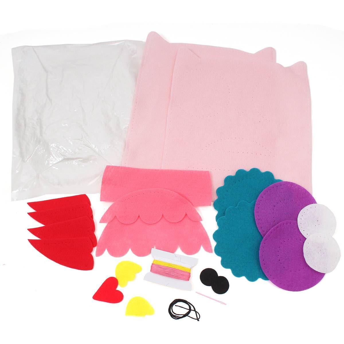 HobbyCraft Make Your Own Felt Owl Pillow Kit Craft
