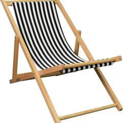 Wooden Beach Chairs Plans Ikea Poang Chair Folding Deckchair Garden Seaside Deck