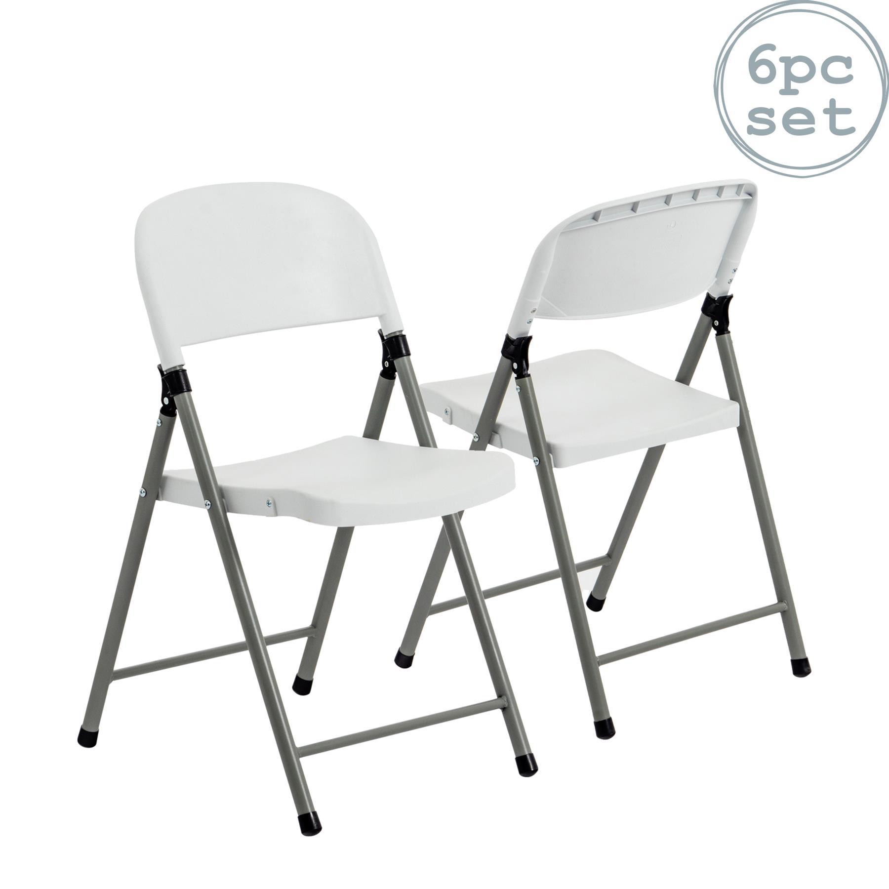details sur chaise pliante interieur exterieur bureau jardin camping chaise x6