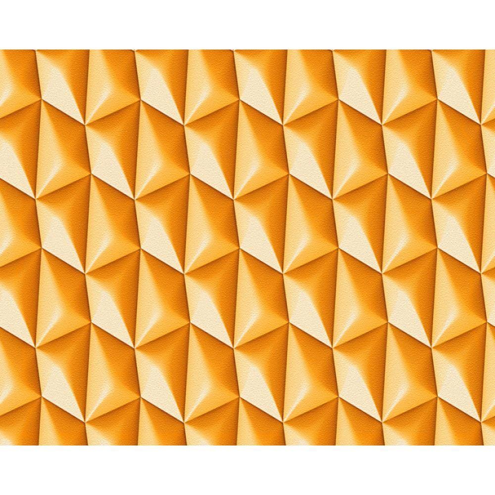 As Creation GEOMETRICO motivo a quadri carta da parati ASTRATTO Triangolo 3D  eBay