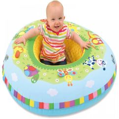 Baby Blow Up Ring Chair Best Bouncy For Galt Inflatable Playnest 2in1 Bed Play Toy Seat Support