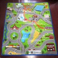 GIANT KIDS CITY PLAYMAT FUN TOWN CARS PLAY VILLAGE FARM ...