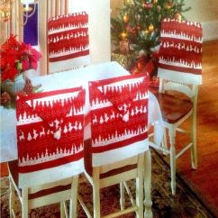 Amazon Xmas Chair Covers Sears Canada 4 X Christmas Theme Hat Back Party Dinner Table Decoration Set | Ebay