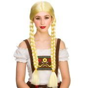 adults oktoberfest beer girl wig