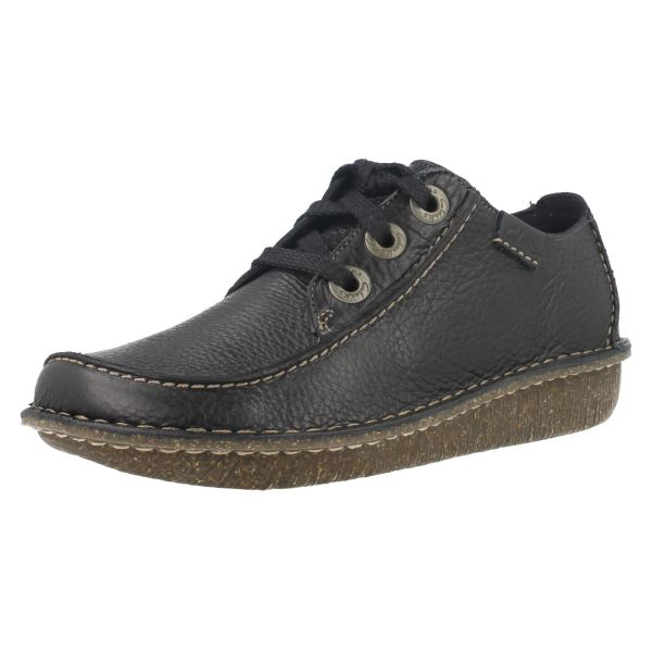 Ladies Clarks Lace Casual Shoes Style - Funny Dream