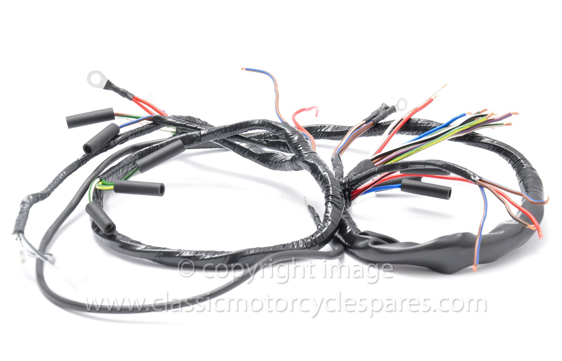 Wiring Harness Bsa B31 B33 On Uk Made Great