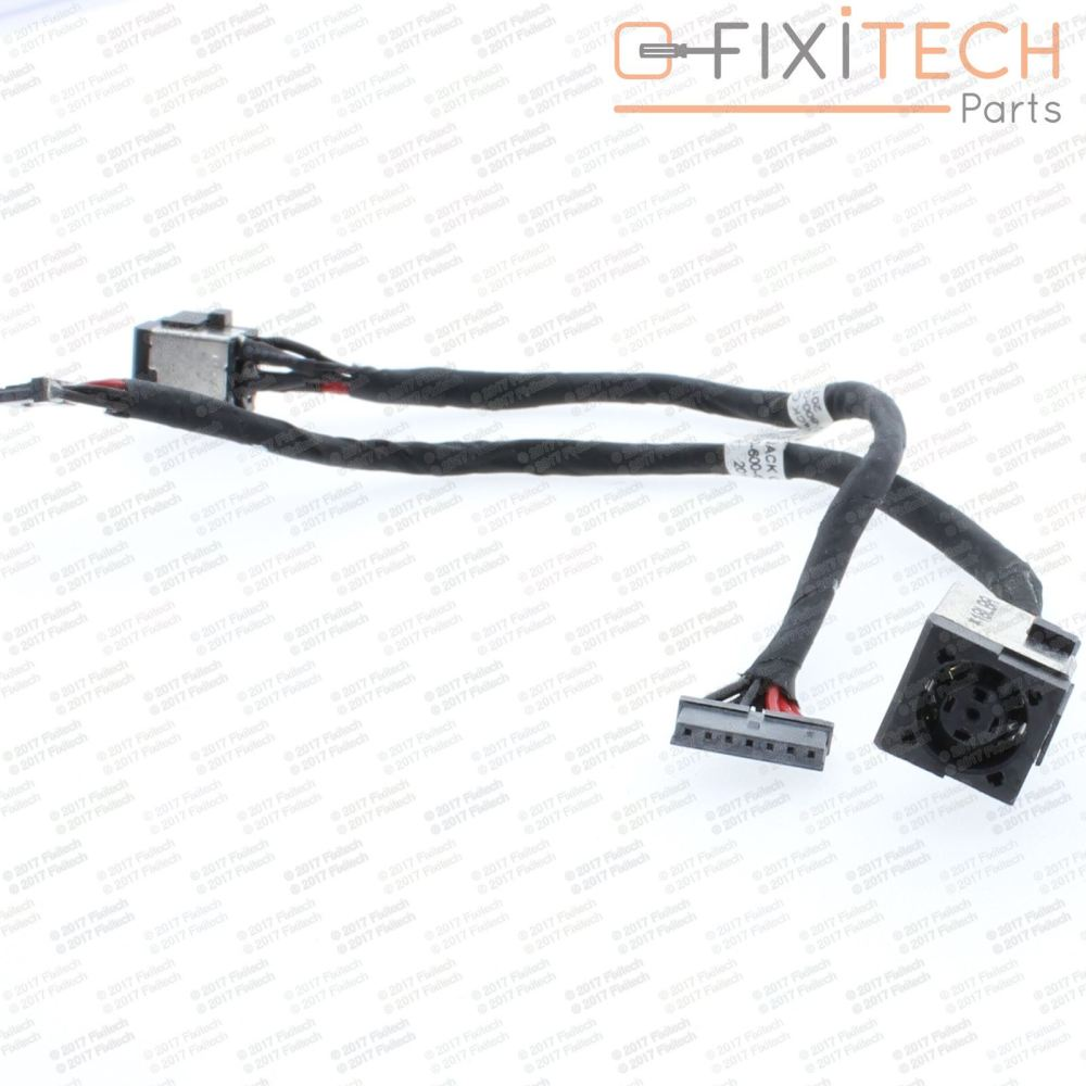 medium resolution of details about hp elitebook 8570w dc in cable power jack port socket with cable connector