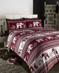 Indian Moroccan Arabic Ethnic Print Duvet Quilt Cover ...