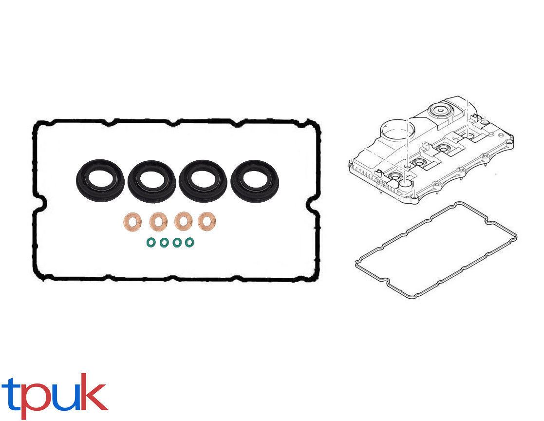 Rocker Cover Gasket Injector Seal Washer Oring Set Transit Mk7 2 2 2 4 Tdci
