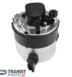 details about ford focus mk2 c max fiesta mk6 mk7 1 6 tdci diesel fuel filter 2005 2012 [ 1356 x 1218 Pixel ]