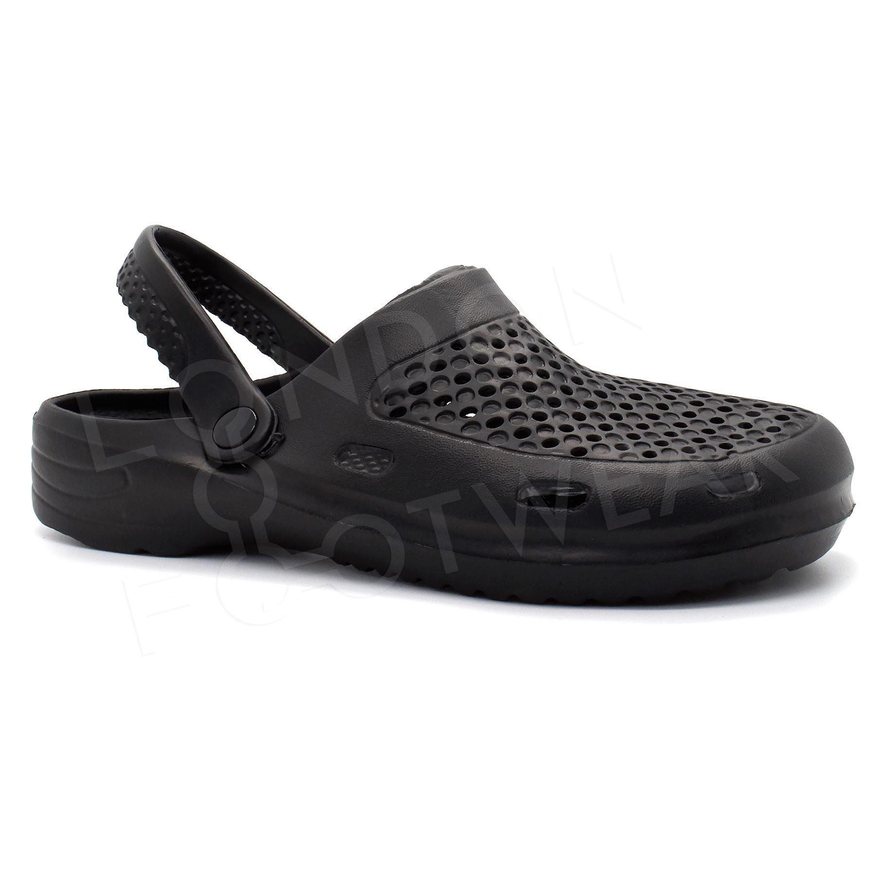 kitchen shoes for men sink refinishing porcelain new mens clogs slip on garden hospital