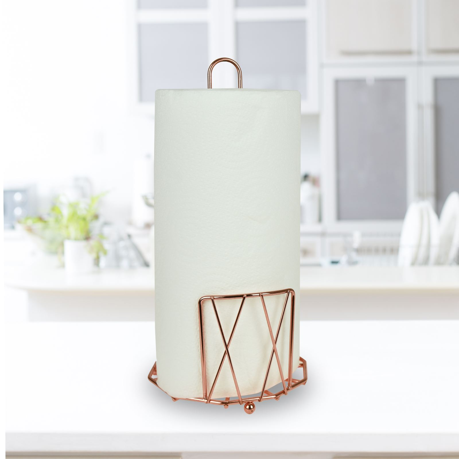 copper kitchen utensil holder aid coffee makers accessory fruit basket roll