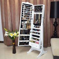 Floor Standing Jewelry Jewellery Storage Box Cabinet ...