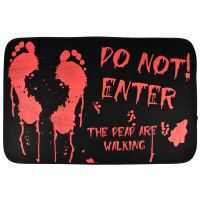 Halloween Doormat Novelty House Decoration Spooky Scary ...