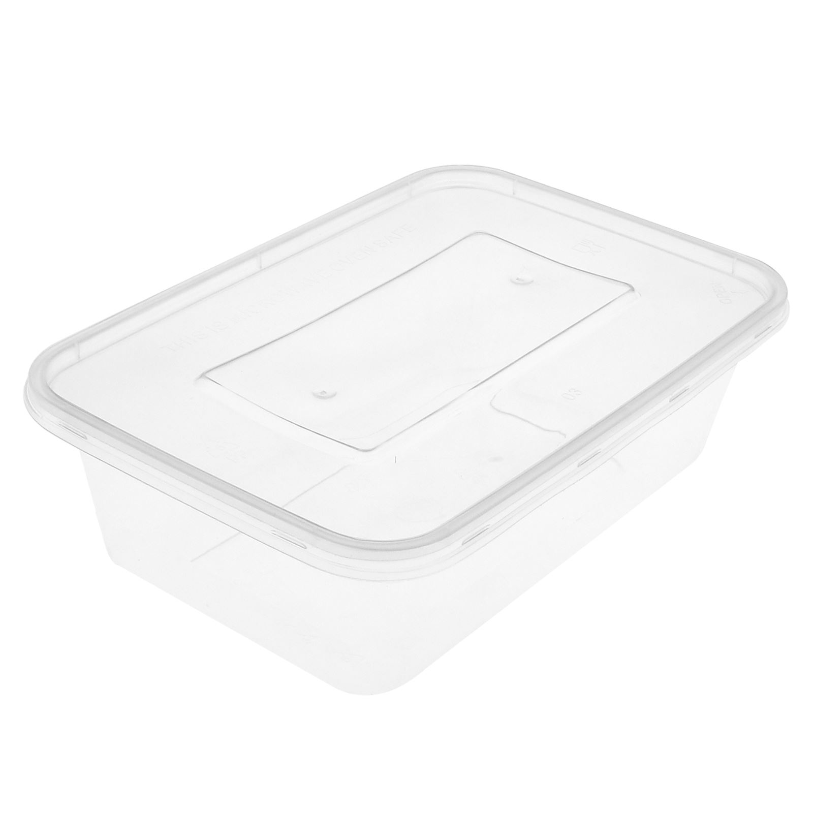 Clear Plastic Food Storage Containers With Lid Microwave