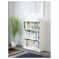 Ikea Billy Bookcase 80x28x106cm White Home Office ...