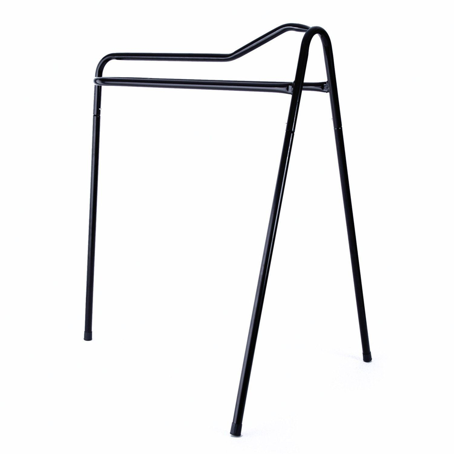 Collapsible Steel Saddle Stand 4 Colours Tripod Tack Rack
