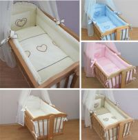 Nursery Crib Bedding Accessories / Cradle Bumper Set