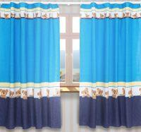 Junior Kids Baby Room Nursery Window Curtains Tape Pencil