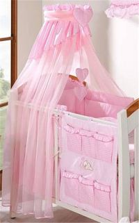 Coronet Canopy Drape/Mosquito Net 320cm Fits Cot Bed ...