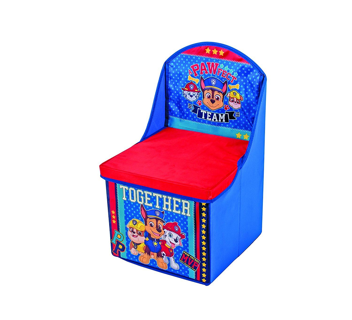 children s pop up chairs mamas and papas chair tray paw patrol toys foldable storage box chest