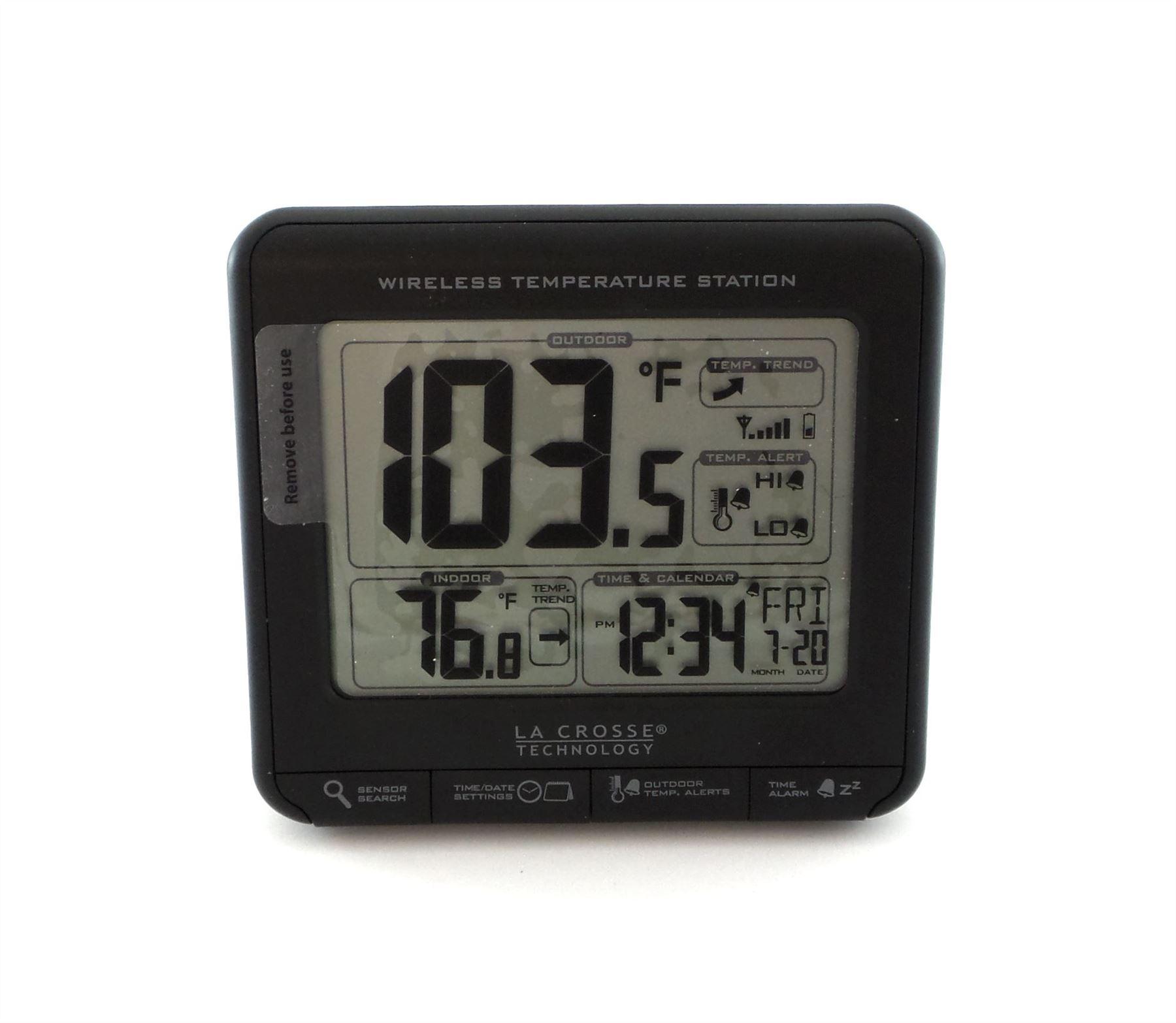 La Crosse Technology T Wireless Temperature Station