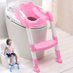 Potty Chair With Ladder Home Depot Adirondack Plans Baby Toddler Toilet Training Seat 2 Step