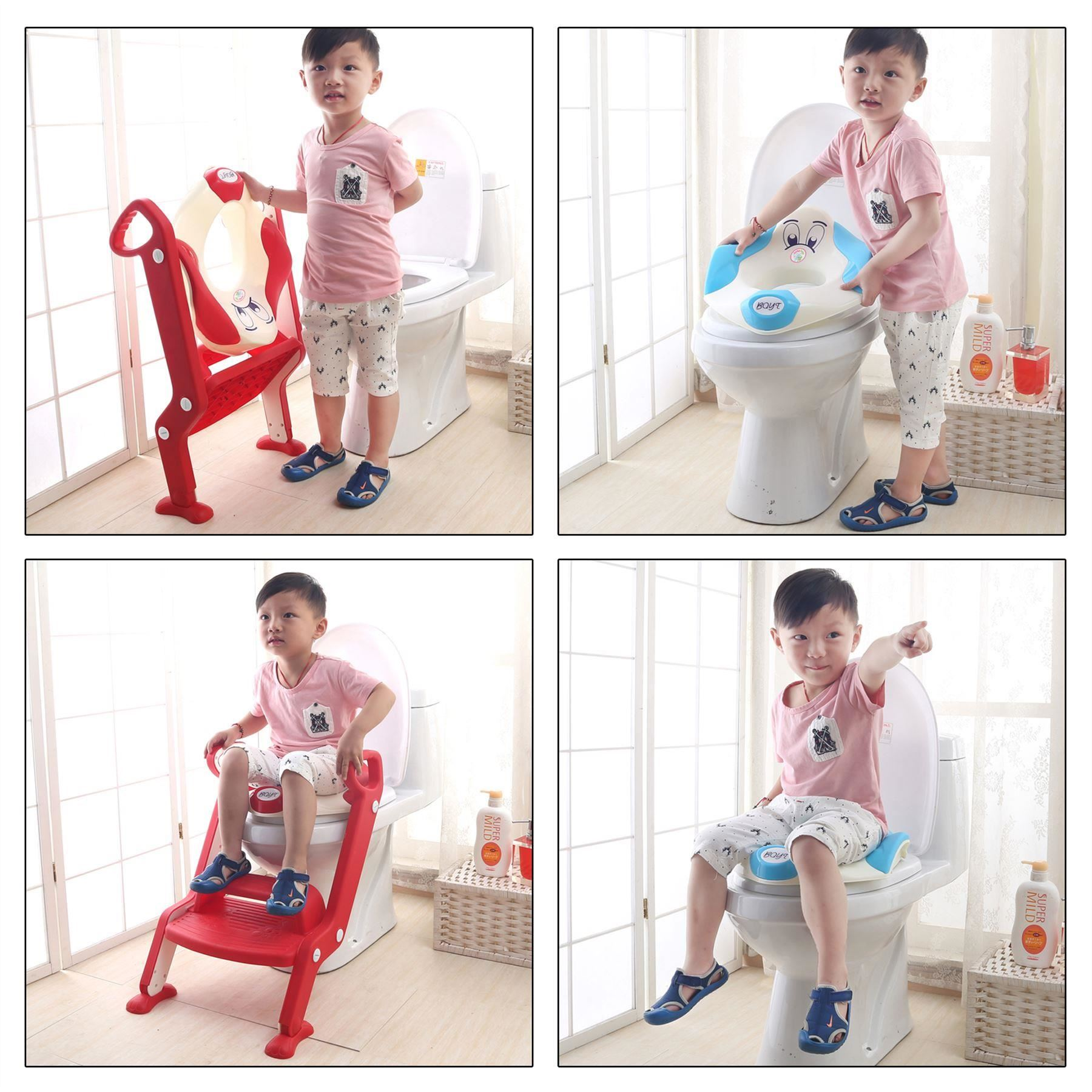 potty chair with ladder counter height table 8 chairs baby toddler toilet training seat 2 step