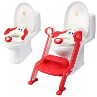 Baby Toddler Toilet Training potty Seat - 2 step Ladder ...