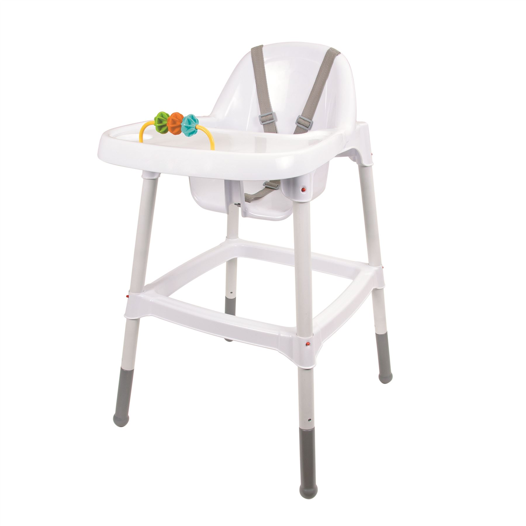 Baby Food Chair Details About Childrens Kids Baby High Chair With Tray Toy Feeding Safety Belt Food 6 M White