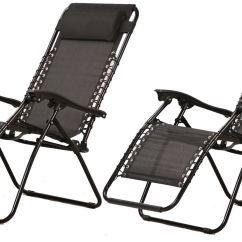 Beach Chairs Uk Argos White Cotton Chair Covers Set Of 2 Vinsani Textoline Gravity Reclining Garden