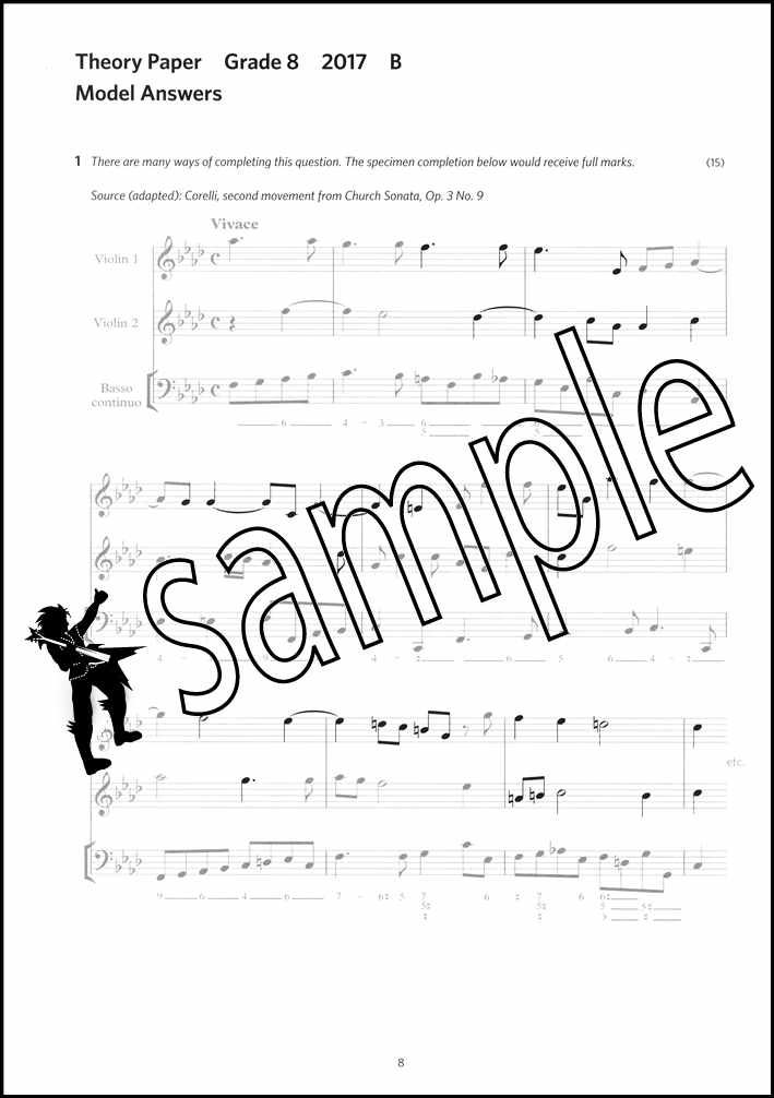 ABRSM Music Theory Practice Papers Model Answers 2017