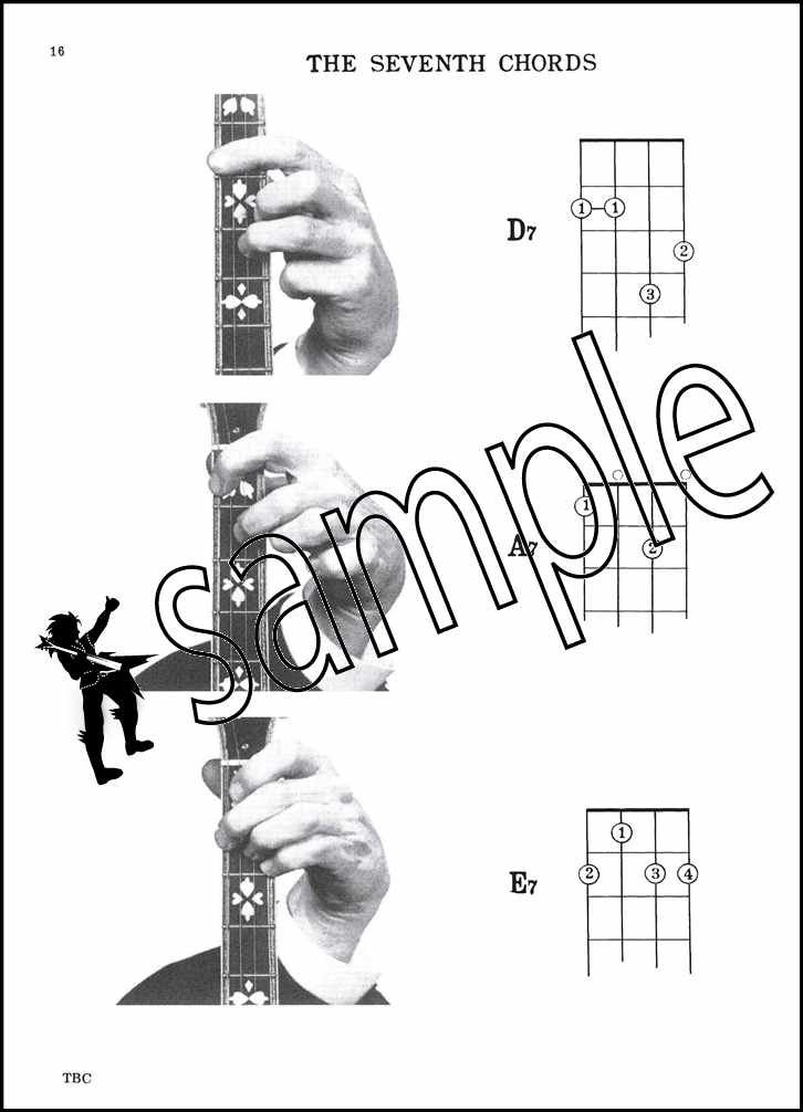 Tenor Banjo Chords Picture Chord Book CDGA Tuning Mandola