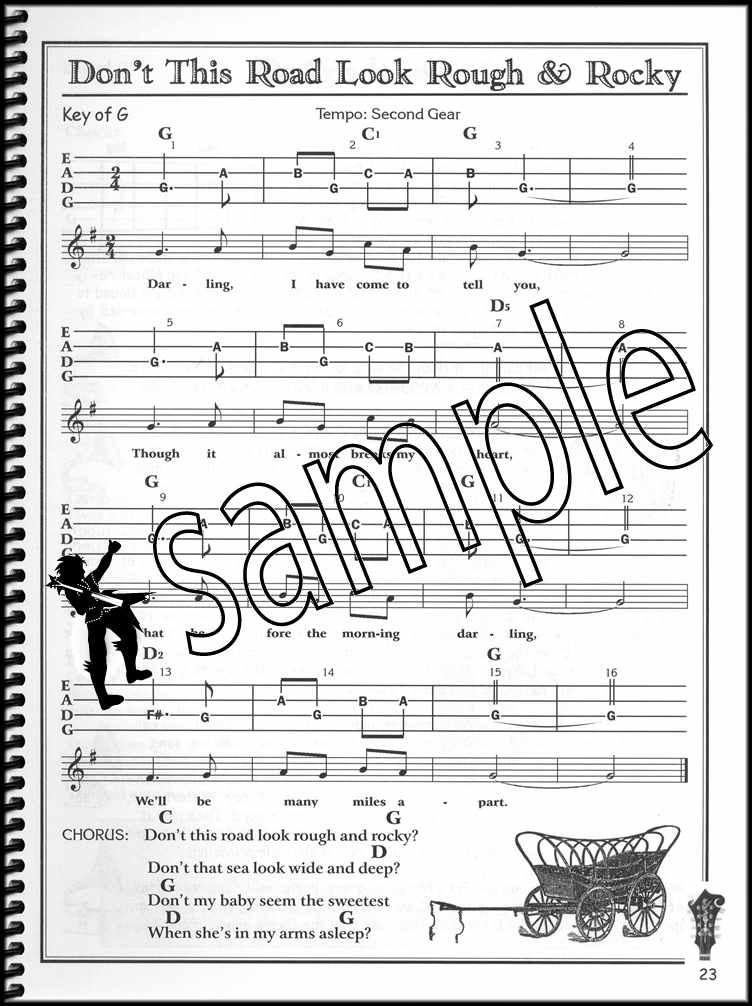 Bluegrass Mandolin for the Complete Ignoramus Method TAB