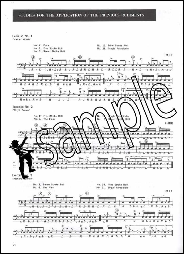Drum Method For Band & Orchestra Sheet Music Book 2 Snare