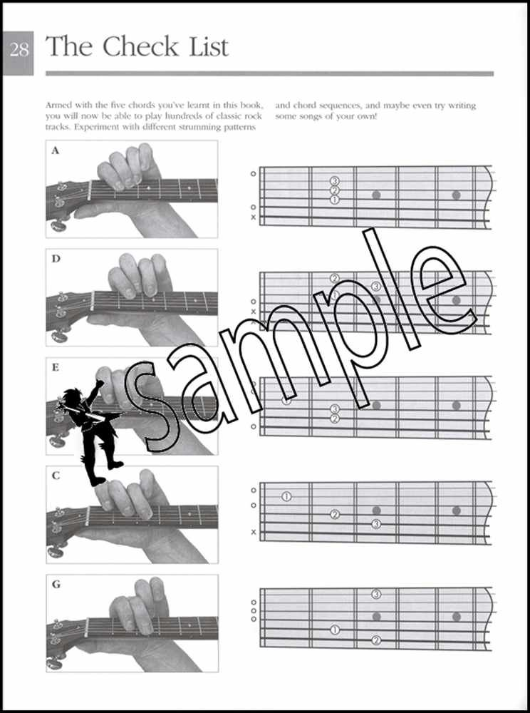 The Picture Guide to Playing Guitar Book 1 Learn to Play